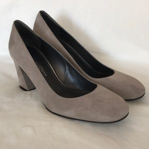 Shoes - Brand New Stuart Weizman Suede Pumps